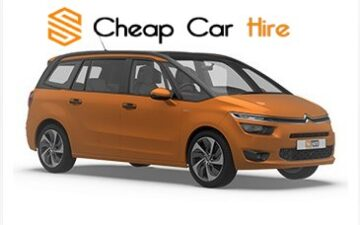 Rent Citroen C4 Grand Picasso 7 Seater-New Car-Automatic