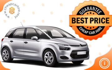 Rent Citroen C4 Picasso-New Car