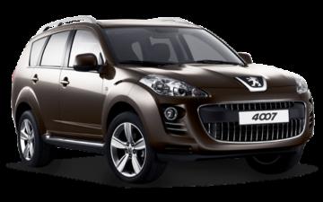 Rent Peugeot 4007 - 7 Seat - SUV