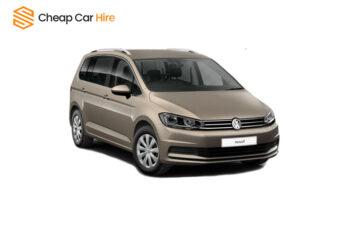 Rent VW Touran 7 Seater - Manual