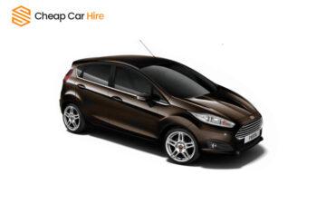 Rent Ford Fiesta - Manual