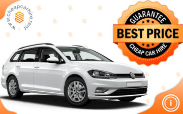 Rent VW GOLF 7-AUTOMATIC, WAGON-NEW CAR
