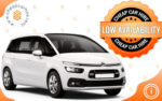 Citroen C4 Grand Picasso. Seven seats.MPV - Minivan. Automatic gearbox.Available for car vrental on Belgrade airport with Cheap Car Hire car rental agency.