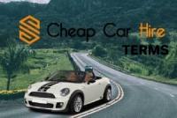 Cheap car hire. Rental terms.